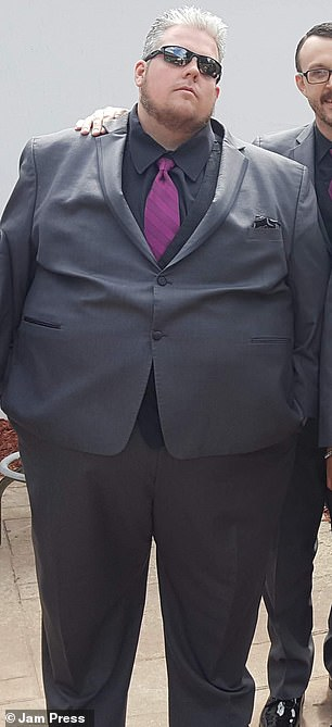 داستان الهام بخش کاهش وزن مرد 235 کیلوگرمی که روزی 5,500 کالری مصرف میکرد
