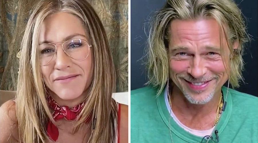 رد و بدل شدن دیالوگ های عاشقانه میان برد پیت و جنیفر آنیستون در همکاری جدیدشان