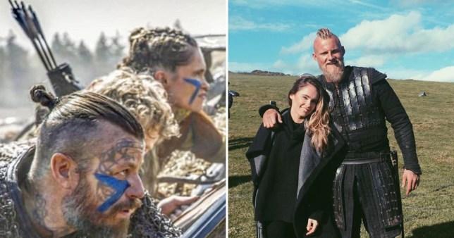 الکساندر لودویگ بازیگر نقش بیورن آیرون ساید در سریال وایکینگ ها (Vikings) از کریستی دان دینزمور همبازی خود در این سریال جدا شد و بار دیگر وارد رابطه شد.