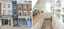 باریک ترین خانه لندن با ۱۶۵ سانتیمتر عرض که ۱ میلیون پوند قیمت دارد