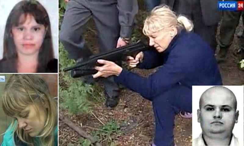 اینسا تاروردیوآ؛ مادرخوانده مافیا و رهبر گروه آمازون که شهر روستوف را در وحشت فرو برد