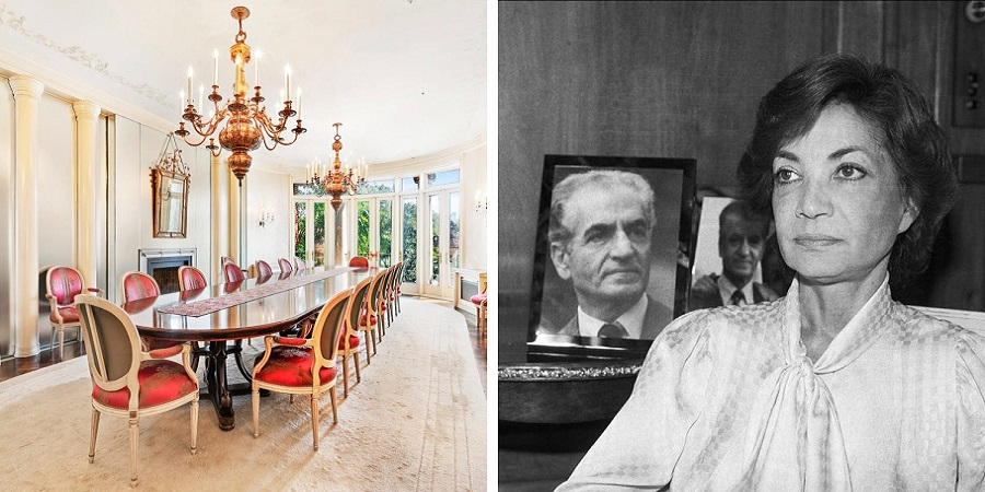 گشتی در عمارت مجلل اشرف پهلوی در نیویورک که در آن از دنیا رفت