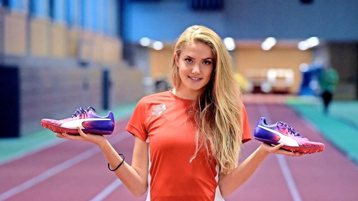 آلیشیا اشمیت 21 ساله بوده و در آلمان به عنوان دونده ای مطرح شناخته می شود هر چند بیشتر شهرتش را مرهون فعالیت در دنیای مد و فشن است.