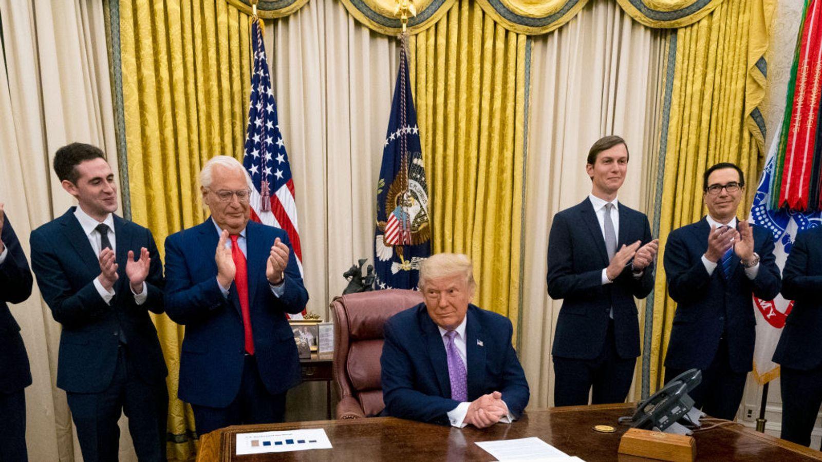 دونالد ترامپ نامزد دریافت جایزه صلح نوبل ۲۰۲۰ شد