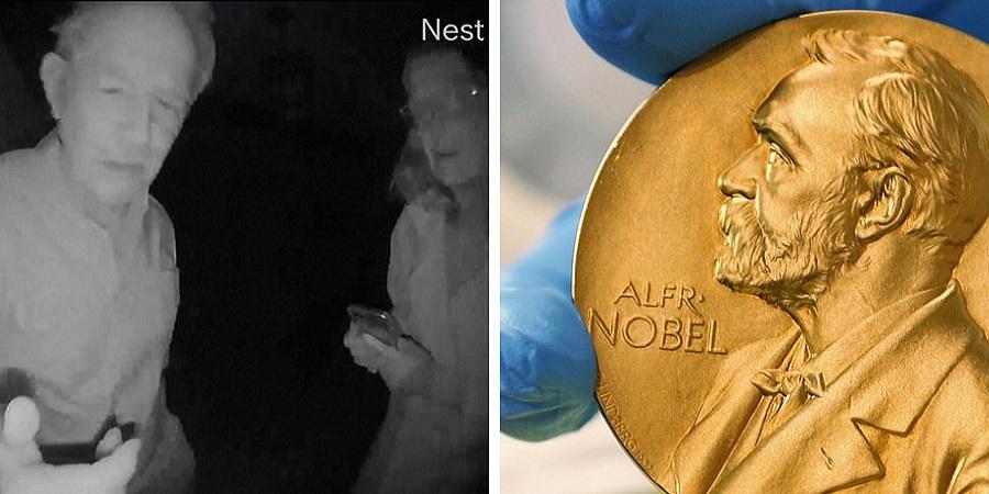 «بیدار شو نوبل گرفتی!» لحظه باخبر شدن برنده نوبل ۲۰۲۰ از جایزه اش + ویدئو