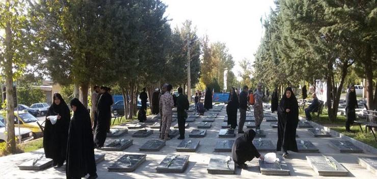 پس از مشخص شدن عامل مخدوش کردن چهره زنان از روی سنگ قبرها در آرامستان شهر رویان که بین نور و نوشهر در استان مازندران قرار دارد