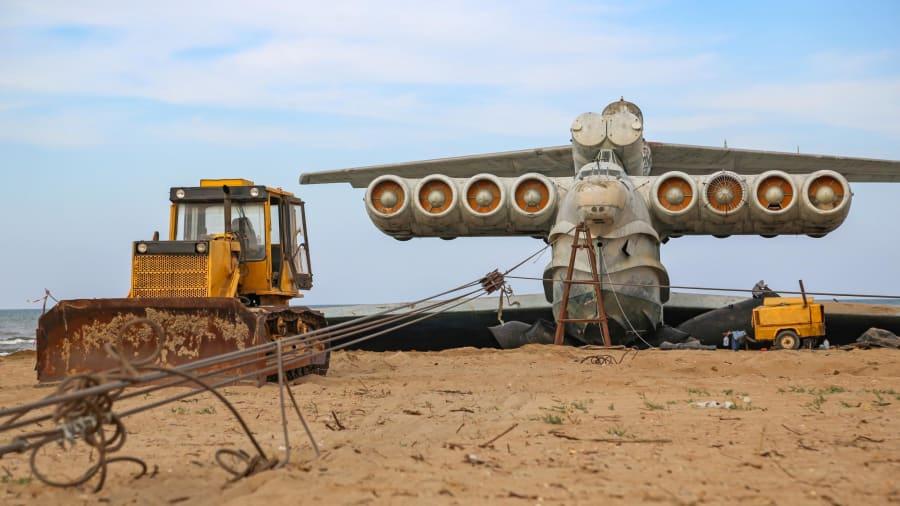 هیولای دریای خزر از گور برمی خیزد؛ حرکت دوباره اکرانوپلان بازمانده شوروی پس از ۳۰ سال