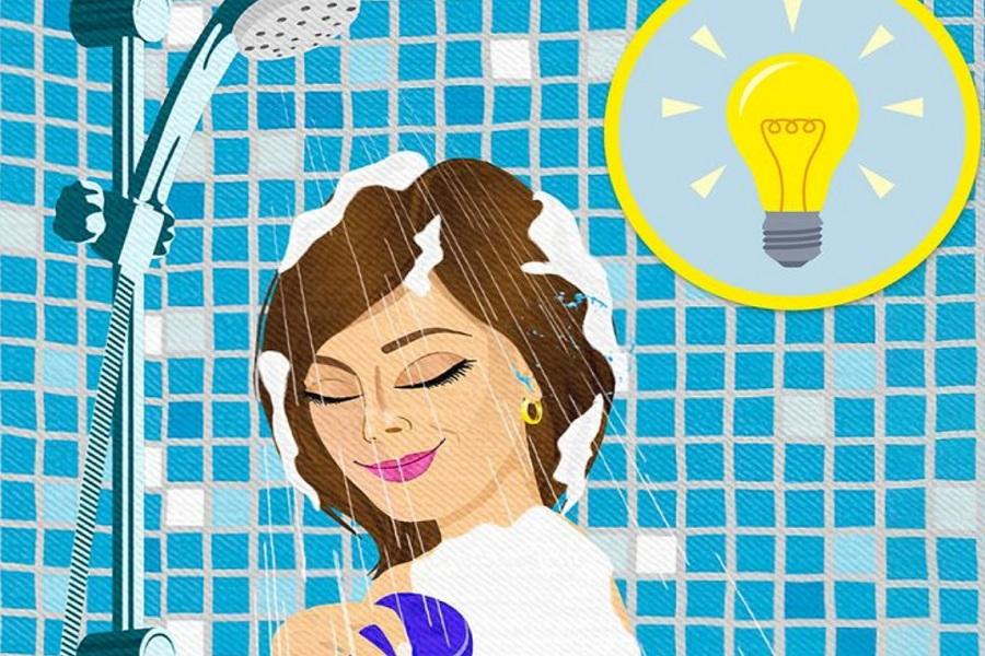 چرا خلاقانه ترین ایده ها در حمام به سراغ مان می آید؟