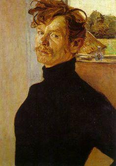 Bernhard Pankok   Selbstportr%C3%A4t 1898 روزیاتو: چه شد که لباس یقه اسکی مشکی به نماد نابغه ها تبدیل شد؟ اخبار IT