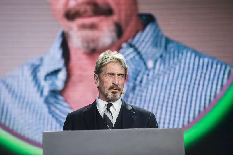 جان مک آفی موسس کمپانی آنتی ویروس مک آفی (McAfee) روز دوشنبه در اسپانیا به جرم فرار مالیاتی و خودداری عمدی از پرداخت مالیات دستگیر شد.
