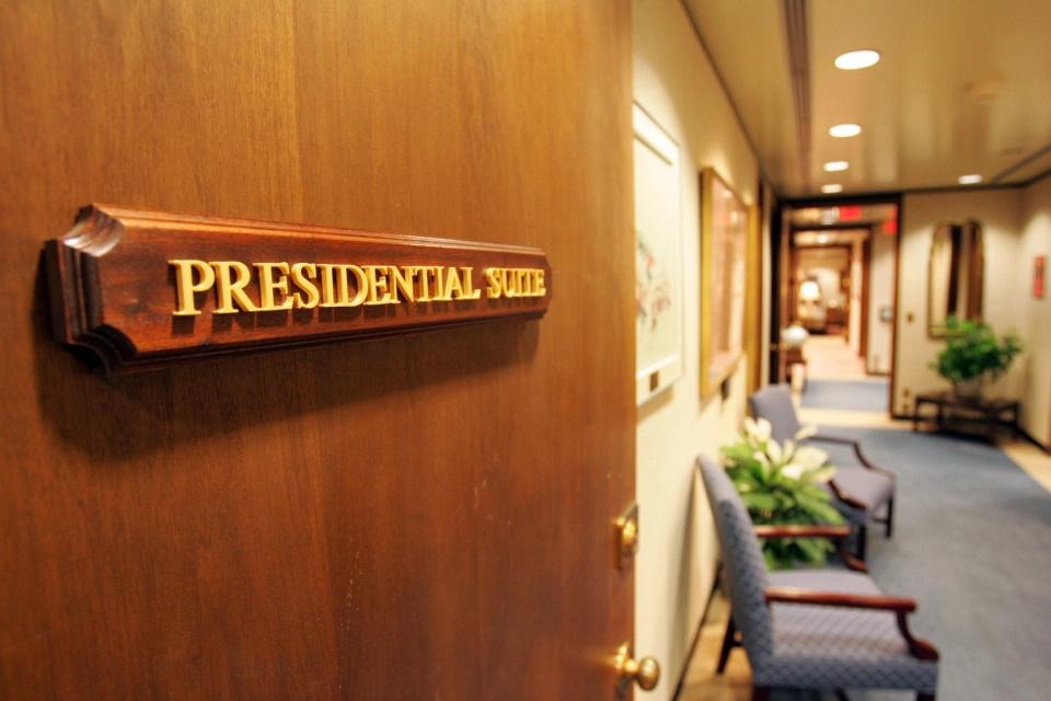 سوییت رییس جمهور در بیمارستان والتر رید که با نام Ward 71 شناخته می شود یکی از شش اتاق بیماران ویژه است که برای افسران بلندمرتبه ارتش و اعضای کابینه کاخ سفید ساخته و در نظر گرفته شده است.