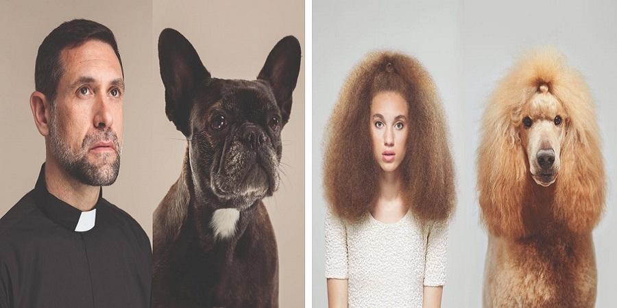 تصاویری تماشایی از شباهت جالب و عجیب سگ ها به صاحبان خود