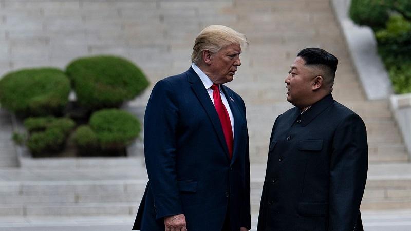 رهبر کره شمالی دونالد ترامپ کرونا