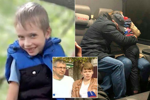 یک پسربچه 7 ساله که به مدت 52 روز توسط یک مظنون به تمایلات جنسی منحرفانه ربوده شده بود در عملیات نیروهای ویژه روسیه آزاد شد،
