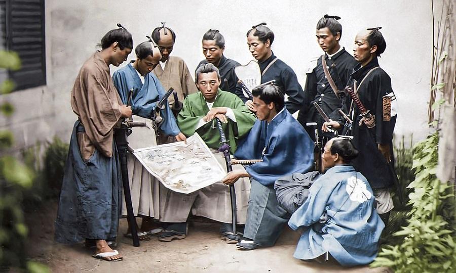 ۲۰۰ سال تاریخ خاور دور به روایت تصویر؛ عکس هایی رنگی از سامورایی های ژاپنی