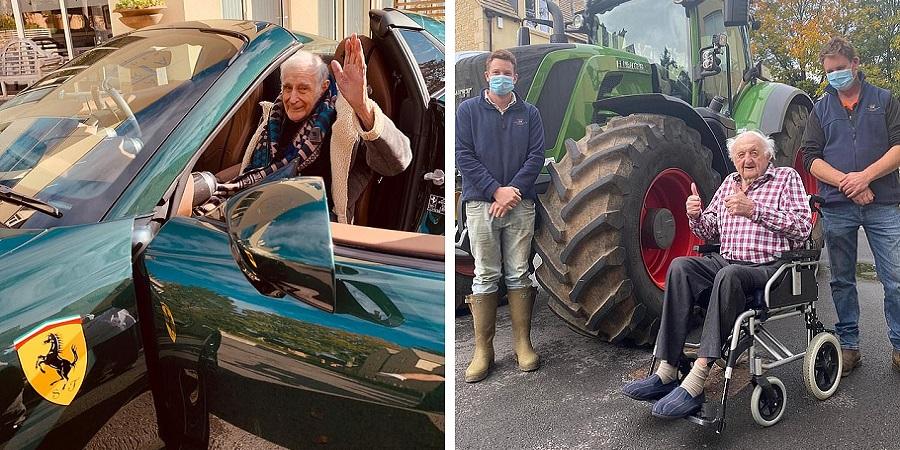 خانه سالمندانی در انگلیس که آرزوهای ساکنانش را برآورده می کند؛ از رانندگی با فراری تا ملاقات با ملکه