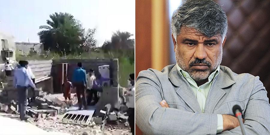شهردار بندرعباس پس از تخریب خانه خانواده بی پناه: استعفا نمی دهم!