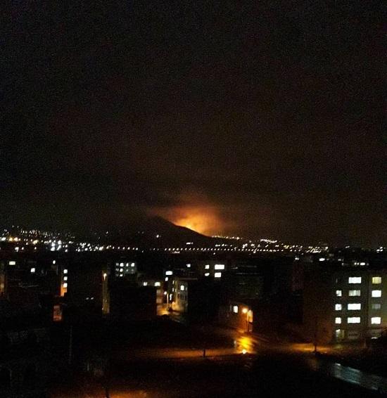 نیمه شب گذشته صدای انفجار مهیبی همراه با نوری خیره کننده در سنندج باعث وقوع شایعاتی در این شهر مبنی بر انفجار در پتروشیمی این شهر شد.
