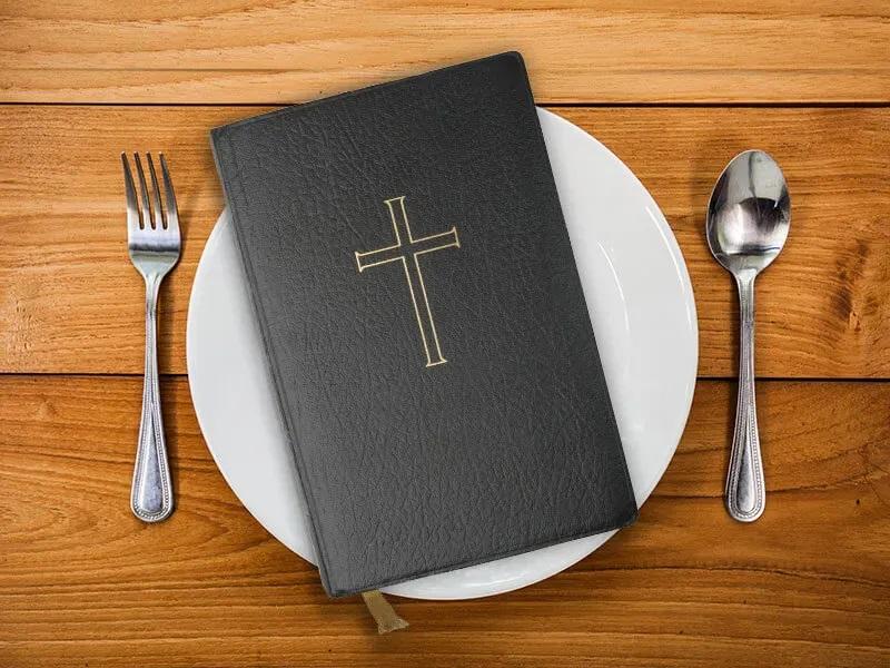 3 Bible food eat plate credit none روزیاتو: عجیب ترین رژیم های لاغری دنیا؛ از رژیم خواب تا رژیم سیگار اخبار IT
