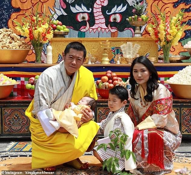 خاندان سلطنتی بوتان
