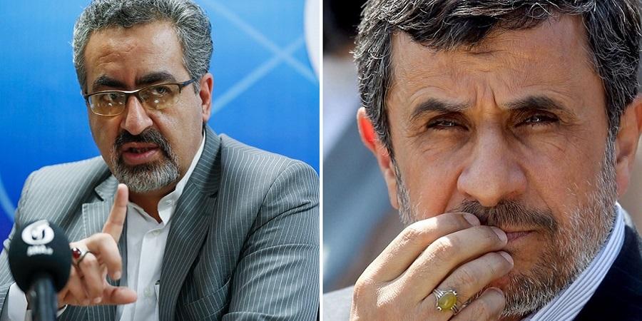 ادعای احمدی نژاد درباره آزمایش پنهانی داروی کرونا روی مردم ایران به خاطر پول