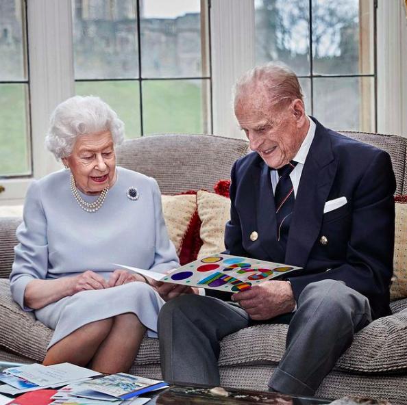 سالگرد ازدواج ملکه بریتانیا