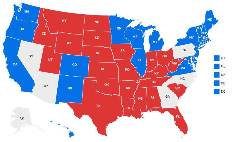 نتایج شمارش آرا نشان می دهند که جو بایدن در حال افزودن بر فاصله آرا خود با دونالد ترامپ بوده و هر لحظه امیدهای رییس جمهور کنونی ایالات متحده برای ماندن در کاخ سفید برای 4 سال دیگر کمتر می شود.