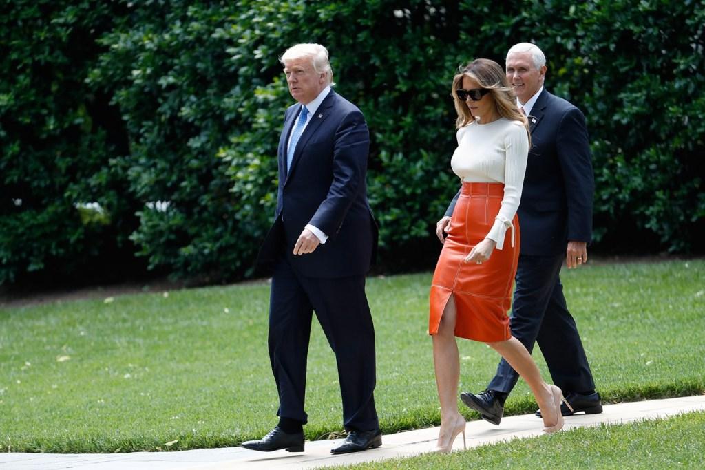 بر اساس گزارش ها، ملانیا ترامپ برای جدایی از رییس جمهور ایالات متحده لحظه شماری می کند.