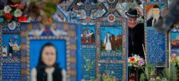 قبرستان فکاهی؛ گورستانی در رومانی با قبرنوشته های طنزآمیز درباره مردگان