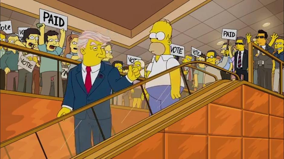 طرفداران سریال سیمپسون ها (The Simpsons) بار دیگر شاهد پیش بینی عجیب اما دقیق این انیمیشن از انتخابات ریاست جمهوری 2020 بوده اند.