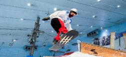 داستان غول سازنده اسنوبرد در دل شهر دبی و بزرگترین پیست اسکی داخلی جهان