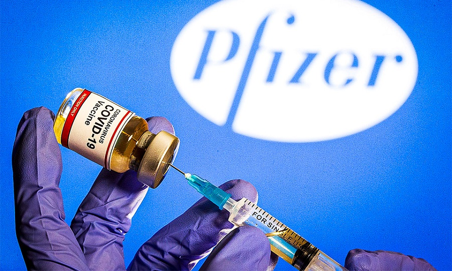 فلج شدن صورت چند شرکت کننده آزمایش واکسن کرونا فایزر