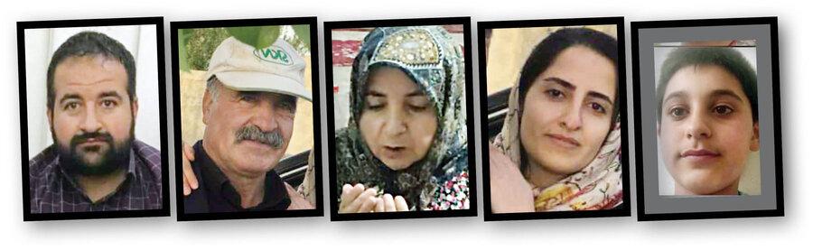 کارگران غیرمجاز افغانستانی خانواده تویسرکانی را به قتل رساندند