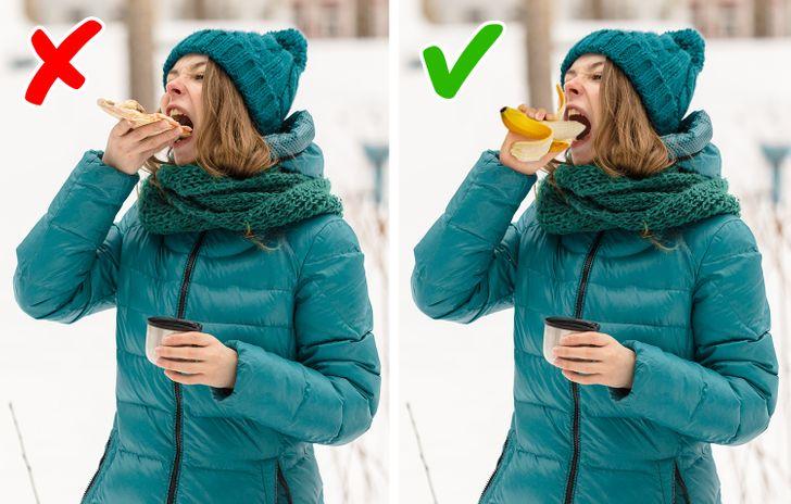 افراد معمولاً فصل زمستان یا تعطیلات طولانی مدت را عامل اصلی افزایش وزن خود اعلام می کنند زیرا در این دوره افراد وقت بیشتری را در خانه و در مهمانی می گذرانند