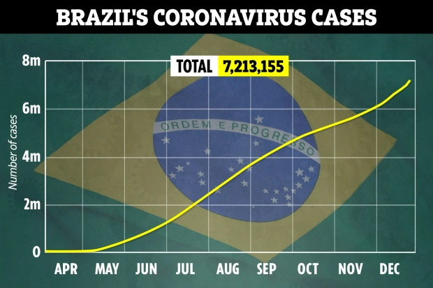 ژایر بولسونارو رییس جمهور برزیل مدعی شده که واکسن کووید-19 می تواند انسان ها را به کروکودیل تبدیل کرده یا زن ها را ریشدار کند.