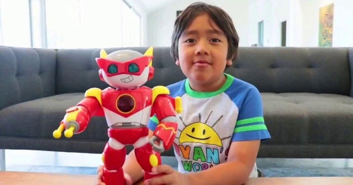 رایان کاجی (Ryan Kaji) 9 سال دارد و از طریق کانال خود در یوتیوب با نام Ryan's World توانسته 29.5 میلیون دلار درآمد کسب کند.