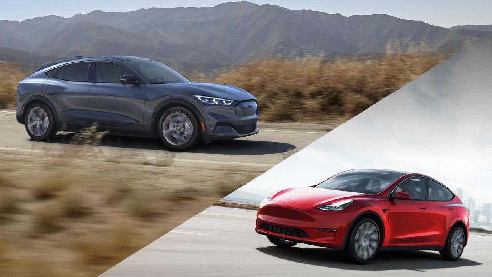 مقایسه مختصر خودرو موستانگ الکتریکی Mach-E فورد و Model Y تسلا
