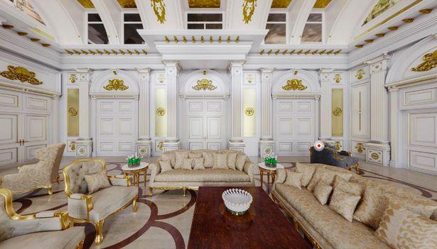 بر اساس ادعای الکسی ناوالنی ، مخالف سرسخت رییس جمهور روسیه، ولادیمیر پوتین یک قصر 1.4 میلیارد دلاری برای خود ساخته که دارای کازینو و سالن رقص خصوصی است.
