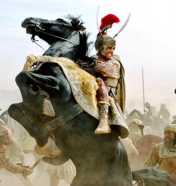 خالق سریال وایکینگ ها در حال آماده سازی یک سریال با عنوان Alexander the Great بر اساس زندگی و ماجراجویی های اسکندر مقدونی است.
