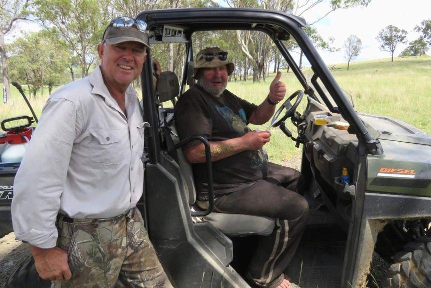 مرد استرالیایی سه هفته تمام با خوردن قارچ وحشی و آب سد خود را زنده نگه داشت