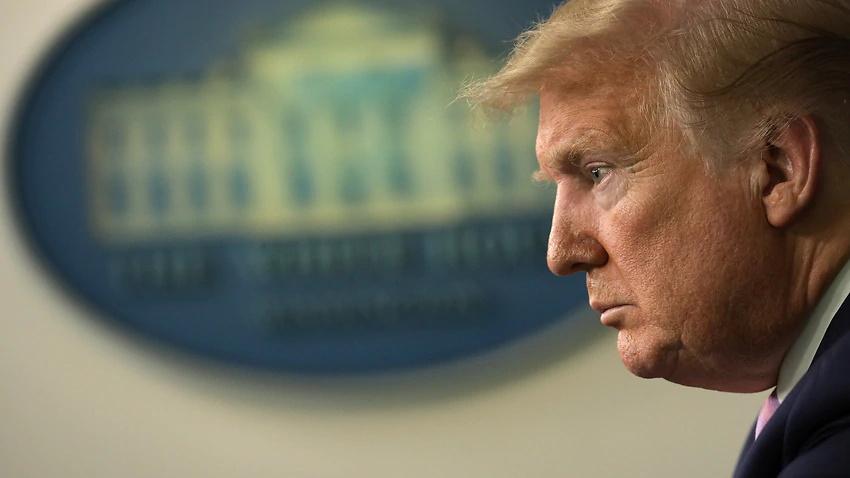 دونالد ترامپ در آخرین روز حضور خود در کاخ سفید یک سخنرانی 20 دقیقه ای از پیش ضبط شده داشت و آنجا را ترک کرد