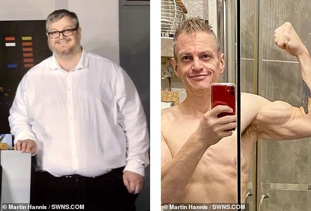 داستان کاهش وزن مردی که به خاطر جا نشدن در ترن هوایی در عرض یک سال خود را لاغر کرد