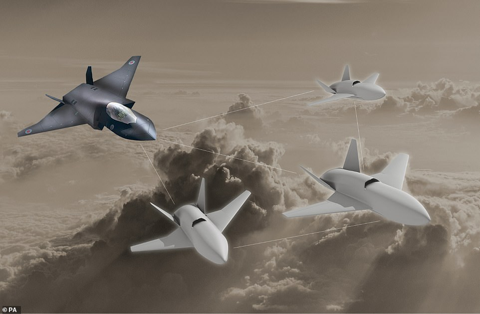 پهپاد تهاجمی loyal wingman طوری طراحی شده که در کنار جت های جنگنده پرواز کرده و به تکنولوژی های تجسسی و جنگ الکترونیک مجهز شد است.
