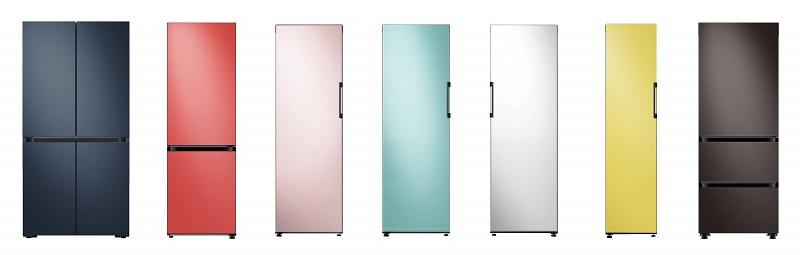 رونمایی از یخچال های رنگی و ماژولار سامسونگ برای سلیقه های مختلف