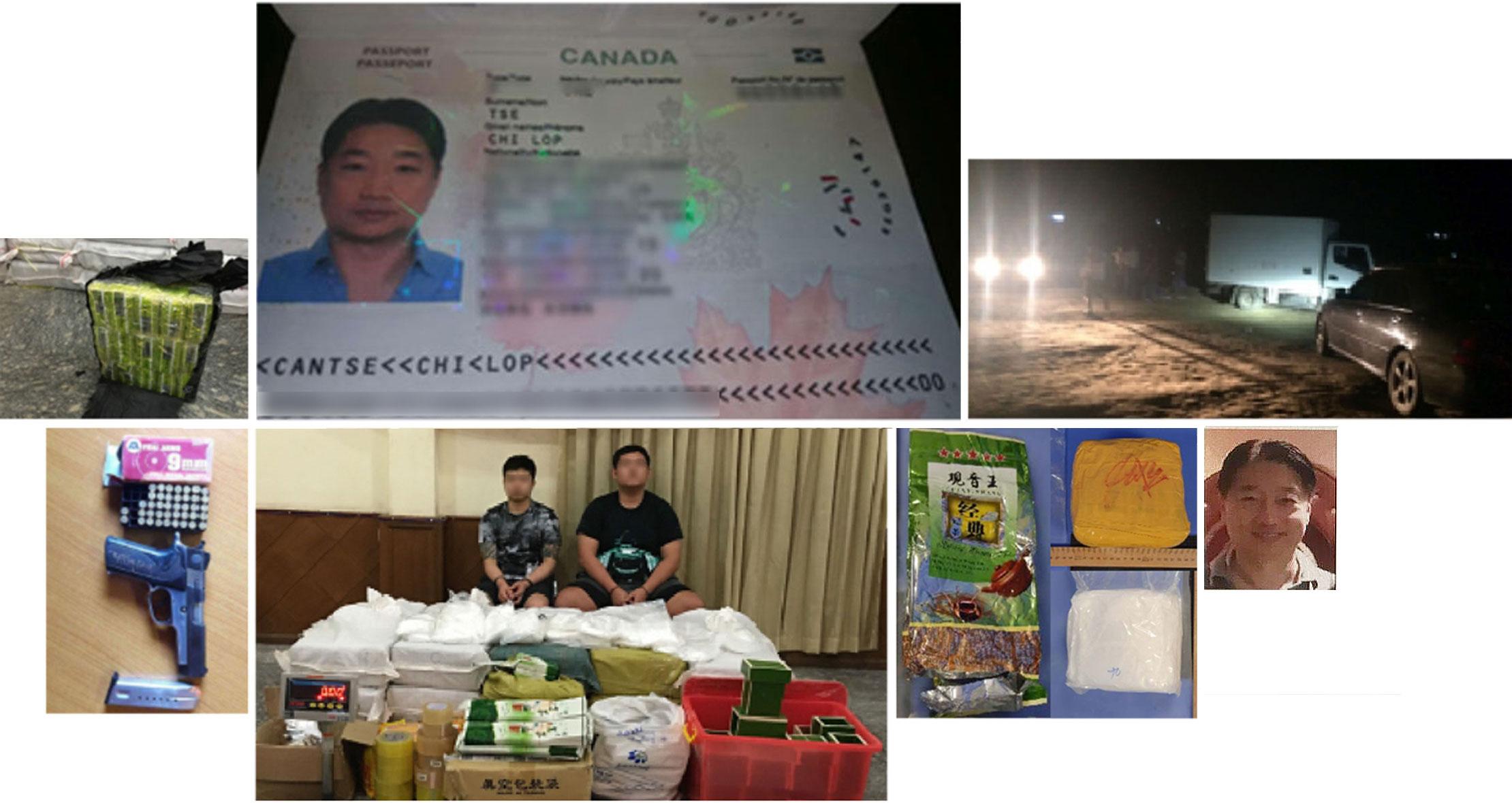 دستگیری سه چه لاپ سرکرده بزرگ ترین شبکه قاچاق مواد مخدر در آسیا که به «ال چاپو آسیا» یا «ال چاپو شرق» مشهور است در فرودگاه اسخیپول