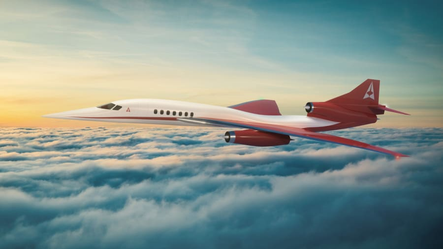 هواپیمای مافوق صوت تجاری AS2 که بین 8 تا 12 مسافر را در خود جای می دهد با سرعت 1.4 ماخ (بیش از 1600 کیلومتر بر ساعت) پرواز می کند.