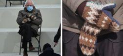 افزایش تقاضا برای دستکش های برنی سندرز پس از سوژه شدنش در مراسم تحلیف بایدن