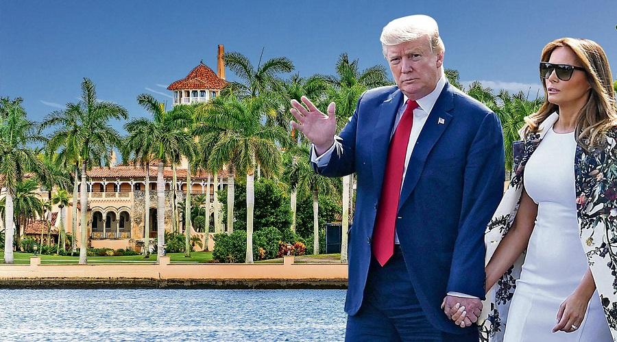 گشتی در خانه جدید دونالد ترامپ پس از ترک کاخ سفید