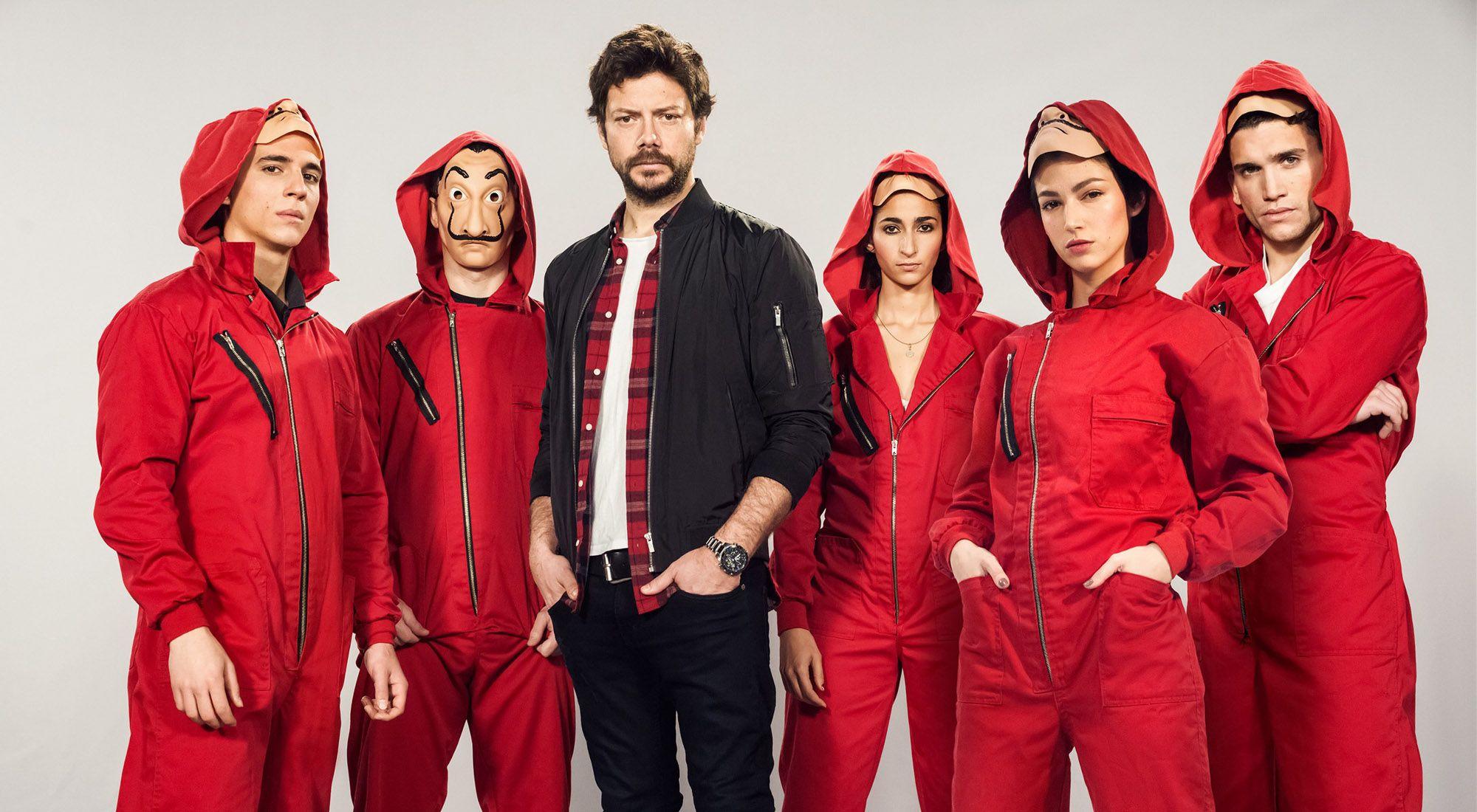 سومین و جاه طلبانه ترین پروژه الکس پینا پس از آخرین فصل از سریال پرطرفدار Money Heist ؛ سریالی دیگر برای سرویس نتفلیکس با نام Sky Rojo است