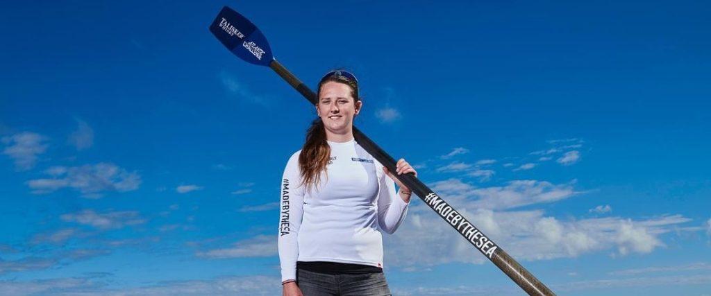 جوان ترین زن دنیا که اقیانوس اطلس را به تنهایی پارو زد